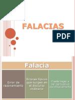 Diapositivas FALACIAS