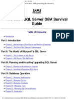MSSQL - SQL Server DBA Survival Guide.pdf
