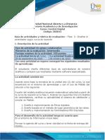 Guía de actividades y Rúbrica de evaluación - Fase 3 - Diseñar el controlador según curva de reacción