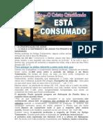 LIÇÃO 10 - O CRISTO CRUCIFICADO - ESTÁ CONSUMADO