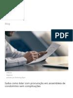 Saiba como usar procuração em assembleia de condomínio.pdf