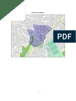 Les cartes précisant les zones où le port du masque est obligatoire dans les différentes communes concernées.