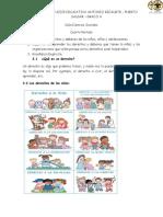 Guía Sobre los derechos y deberes de los niños