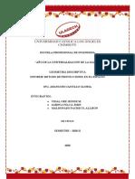 METODOS DE PROYECCION geometria descriptiva