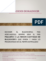 EJERCICIOS DE BULDOCER RESUELTO