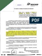 Resolução 1878-2019 - Institui o Programa de Integridade do SESCOOP