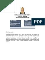 0_Currículo Bárbara Isabel Castillo Medina