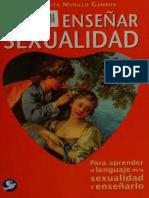Murillo Gamboa, Margarita - Como enseñar sexualidad