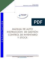 Manual de control de inventario y stock (proyecto laboral)