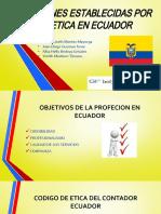 SANCIONES ESTABLECIDAS POR LA ETICA EN ECUADOR