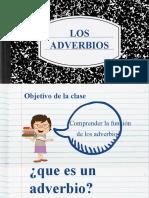 07 - LOS ADVERBIOS