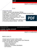 MIDP3.0 overview