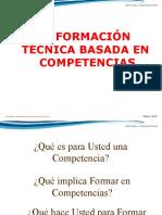La formación técnica basada en competencias