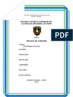 POLICIA DE TURISMO