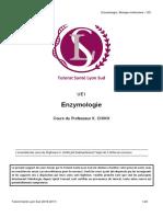 1. Enzymologie