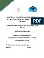 Introducción a la Lógica - Cuadernillo de ejercicios para el alumno