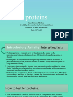 powerpoint on proteins