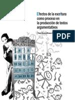 Efectos de la escritura como proceso en la produccion de textos argumentativos-Rivera