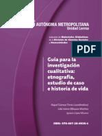 . Daniel Guz_ Guía para la investigación cualitativa etnografía, estudios de caso e historia de vida 2016