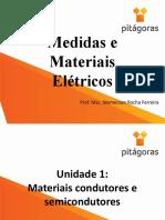 Medidas e Materiais Elétricos - Aula 1