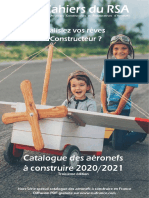 2020-2021 Catalogue Aviateur Constructeur Federation RSA