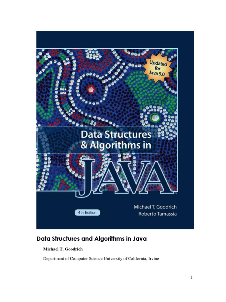 Data structures and algorithms in java 4th method computer data structures and algorithms in java 4th method computer programming class computer programming baditri Image collections