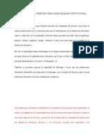 ENSAYO SOBRE EL DIRECTOR COMO LÍDER DE EQUIPO INSTITUCIONAL 1