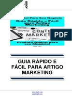 Guia Rapido e Facil Para Artigo Marketing