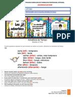 Annex B -Adverbs of time -Grammar Review