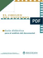 El Origen del Universo - Guía Didáctica para el Análisis Documental