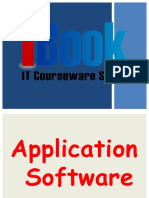Application Software Lesson