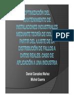 Optimización del mantenimiento de instalaciones industriales
