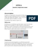 OPTICA - Tipos de luz (1)