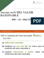 NIIF 13 - VALOR RAZONABLE.