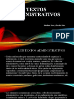 Textos Administrativos expocicion