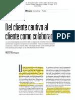 Semana 5. El cliente colaborador (1)