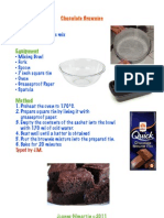 Cookery - Brownies and Cookies
