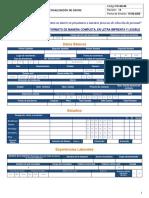 FO-SE-06 Actulización datos  V13 15 DE JUNIO