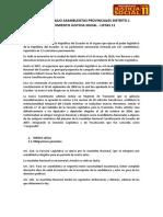 CIRCUNSCRIPCION 1 - GUAYAS - LISTAS 11