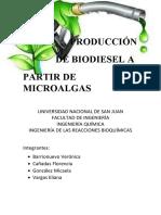 Biodiesel a Partir de Microalgas - Irb