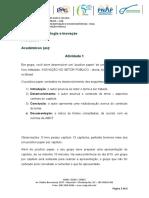 Atividade 1 - Tecnologia e inovação 08 10 2020