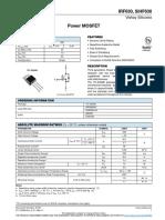 Datasheet IRF630ppp3