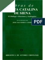 Extracto Diálogo Santa Catalina de Siena - Homosexualidad