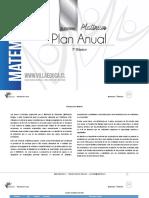 Planificacion Anual - MATEMATICA - 5Basico - P