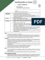 5Basico - Planificacion de Clase Matematica - Semana 20