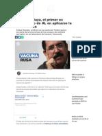 Manuel Zelaya, el primer ex mandatario de AL en aplicarse la vacuna rusa.pdf