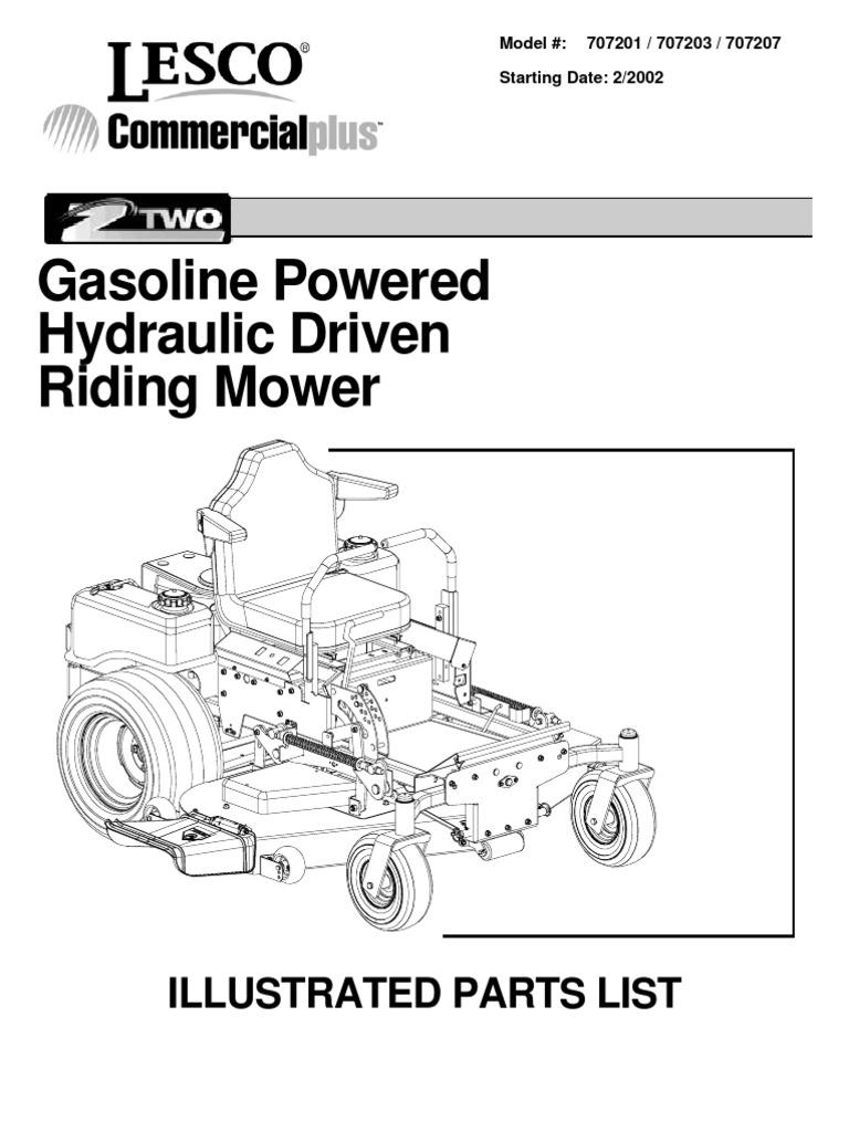 591 Lesco Viper 60 Parts Diagram | Manual E-books | Wiring Library