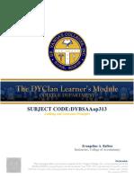 DYBSAAap313 - Auditing & Assurance Principles (MIDTERM MODULE)