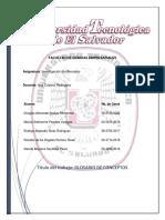Glosario Investigacion de Mercados