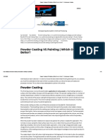 Powder Coating VS Painting _ Which One Is Better_ - Performance Coating